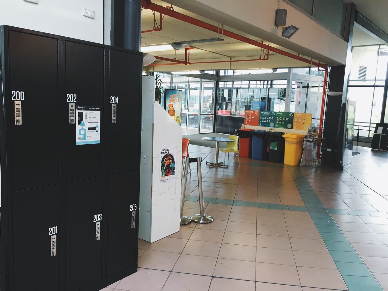 Smart Locker at Unitec Mt Albert