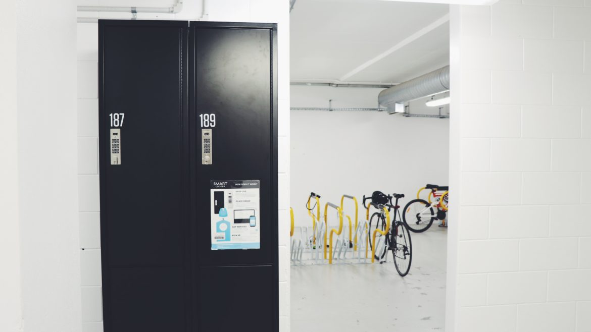 Smart Lockers at Zurich House