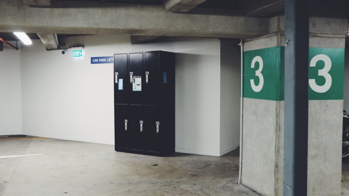 Smart Lockers at ANZ Centre